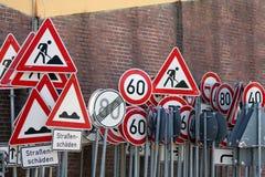 teckentrafik Fotografering för Bildbyråer