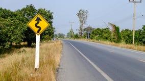 Teckenväg Royaltyfria Foton