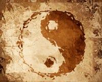 teckenyang yin Royaltyfria Bilder