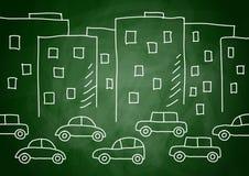 teckna för byggnadsbilar vektor illustrationer