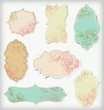 tecknad blommahand Royaltyfri Fotografi