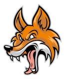 Tecknad film av den dåliga räven Arkivbilder