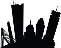 Tecknad film Boston Royaltyfri Bild