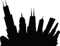 Tecknad film Chicago Royaltyfri Foto