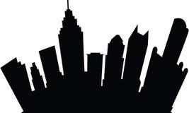 Tecknad film Detroit Royaltyfri Fotografi
