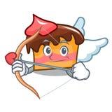 Tecknad film för kupidonsockerkakatecken royaltyfri illustrationer