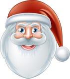 tecknad film lyckliga Santa Claus Arkivbilder