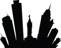Tecknad film Philadelphia Royaltyfri Foto