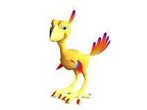 tecknad film phoenix vektor illustrationer