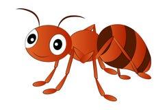 Tecknad film röda Ant Clip Art Royaltyfria Bilder