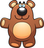 Tecknad film Teddy Bear Royaltyfri Fotografi
