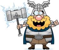 Tecknad film Thor Idea Arkivbild