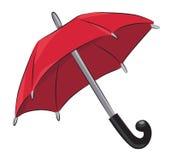 Tecknad filmbild av paraplysymbolen Skyddsymbol Royaltyfria Bilder