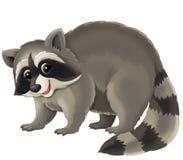 Tecknad filmdjur - illustration för barnen Arkivfoto