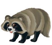 Tecknad filmdjur - illustration för barnen Arkivfoton