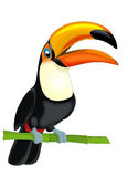 Tecknad filmdjur - illustration för barnen Fotografering för Bildbyråer