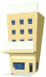 tecknad filmgästgivargårdrestaurang Arkivbild