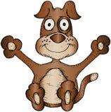 tecknad filmhund Royaltyfri Fotografi