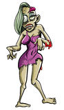 Zombieprostituterad Arkivbild