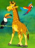 Tecknad filmjunge - illustration för barnen Royaltyfri Bild