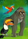 Tecknad filmjunge - illustration för barnen Royaltyfri Foto