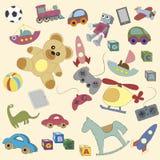 Tecknad filmleksaker för barn Royaltyfri Foto