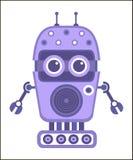 tecknad filmrobot Vektor Illustrationer