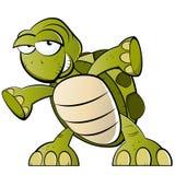 tecknad filmsköldpadda Royaltyfri Foto