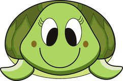 tecknad filmsköldpadda Arkivfoto