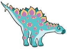Tecknad filmstegosaurus Royaltyfria Bilder