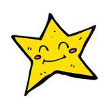 Tecknad stjärna.