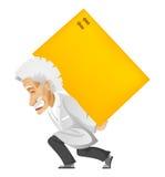 Einstein royaltyfria foton