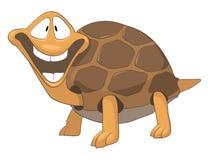 tecknad filmteckensköldpadda Arkivfoto