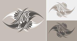 tecknad hand för dräkt kall design royaltyfri illustrationer