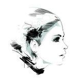 tecknad handmodell Royaltyfri Fotografi