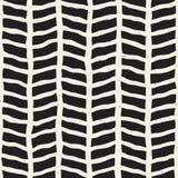 tecknad seamless handmodell Abstrakt geometrisk belägga med tegel bakgrund i svartvitt Stilfull klotterlinje galler för vektor vektor illustrationer