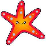 tecknad tappning för stil för stjärna för hav för handillustration originell Arkivbilder