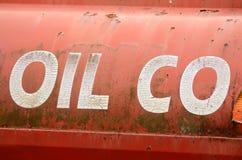 tecknad white för station för bränslehandillustration Royaltyfria Bilder