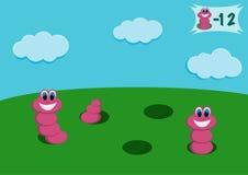 Tecknade filmen avmaskar Fotografering för Bildbyråer