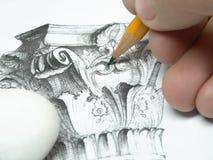 teckning Arkivbilder