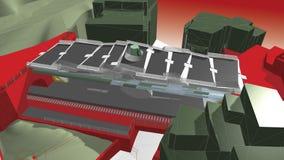 teckning 3d Arkivbild