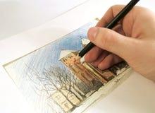 teckning arkivfoto