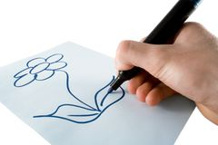 teckning Fotografering för Bildbyråer