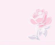 Teckning av den härliga blomman vektor illustrationer