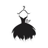Teckning för hand för bollkappa på en hängare stock illustrationer