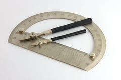 Teckning instruments-6 Royaltyfri Foto