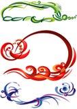 teckningsdiagram Royaltyfri Fotografi
