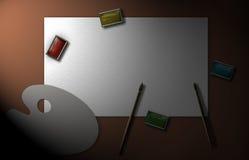 Teckningshjälpmedel Arkivbild