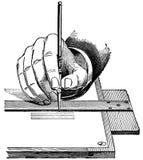 teckningsinstrument royaltyfri illustrationer