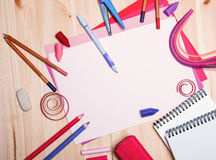 Teckningsmaterial Royaltyfri Fotografi